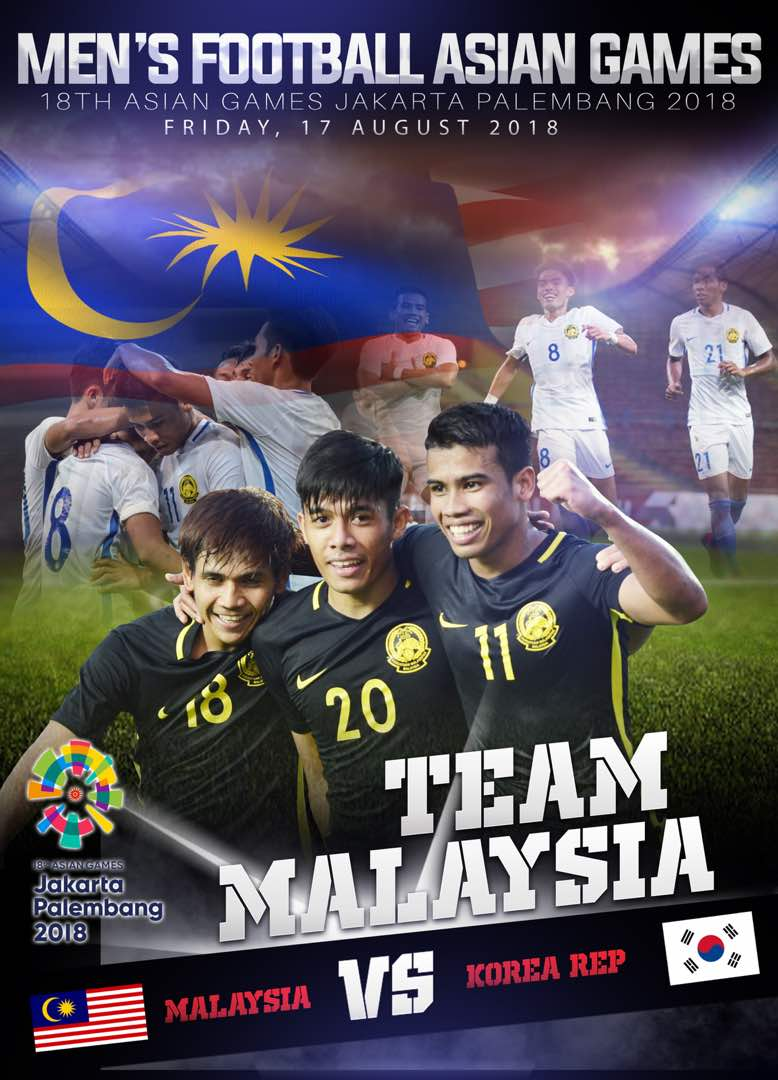 Determination &amp; Discipline Boys!  All The Best &#39;Malaysiaku&#39;. #AsianGames2018   #Malaysia #U23<br>http://pic.twitter.com/WaQTXolpU5