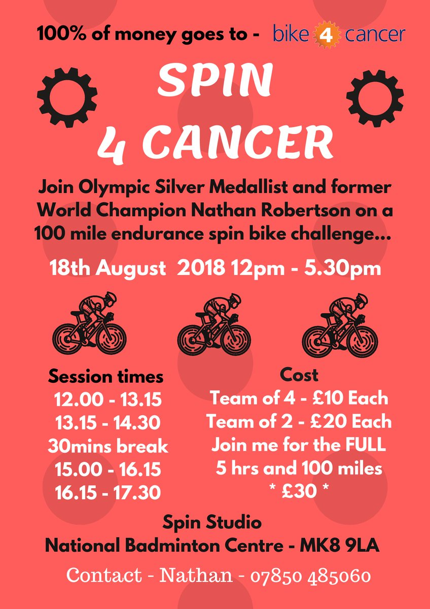 Don&#39;t miss out on this fantastic event tomorrow with our fabulous Patron @Nath_Robertson Join in by getting your spin on! #creatingmemories #Spinning #charity<br>http://pic.twitter.com/1xTPNxoVqL