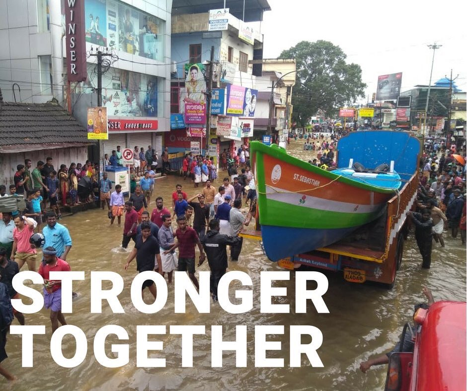 Across Kerala &amp; now Kodagu in Karnataka, heavy rainfall has caused widespread devastation. This is the time for our workers &amp; leaders to demonstrate the core Congress values of service &amp; love. Please focus all our resources &amp; people to help those in need. <br>http://pic.twitter.com/H7MWKaPdGA