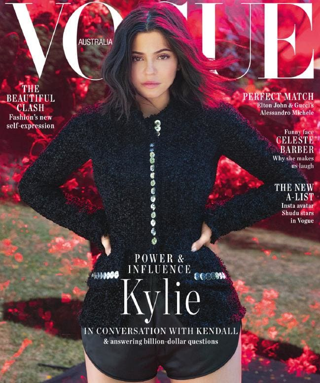Congrats on your first Vogue Cover @KylieJenner  <br>http://pic.twitter.com/K6EwogX2UY