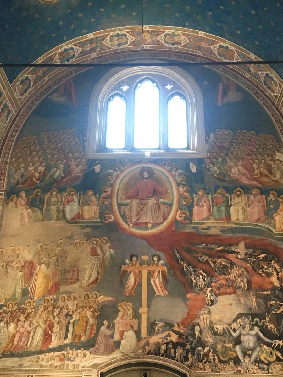 Buon pomeriggio dalla Cappella degli Scrovegni #Padova  - Ukustom