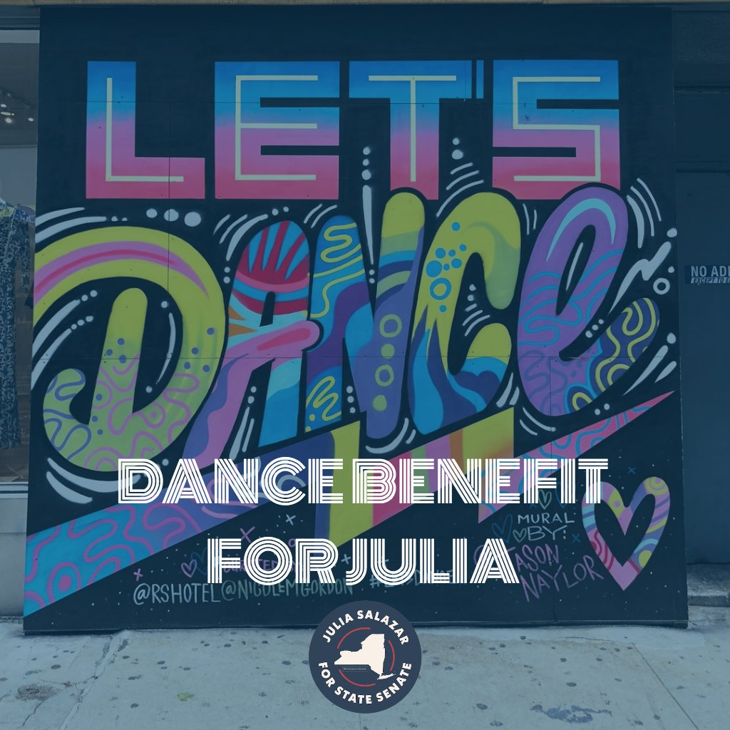 Is Brooklyn ready to boogie for bold progressive politics?   Join me and all our dedicated supporters at our Dance Benefit for Julia Salazar​ fundraiser on August, 24th at 10 PM!   Get your tickets today:  http:// bit.ly/danceforjulia  &nbsp;  <br>http://pic.twitter.com/SEmO6sWKCz