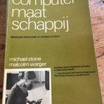 Image for the Tweet beginning: De computer maatschappij. Uit 1970
