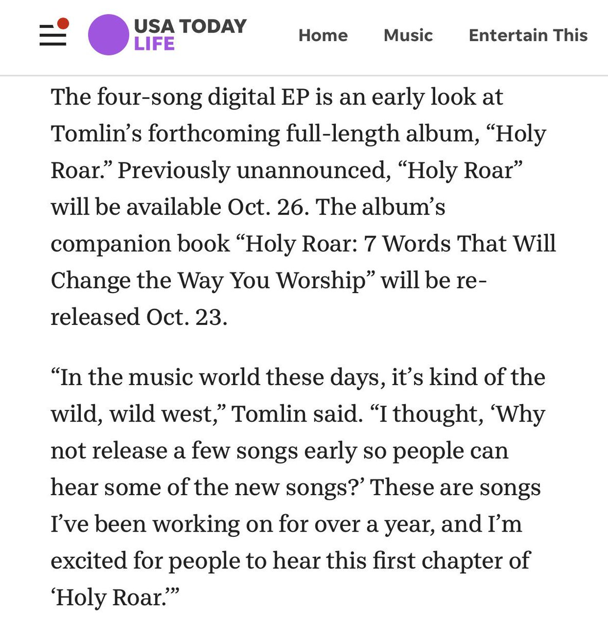 Chris Tomlin on Twitter: \