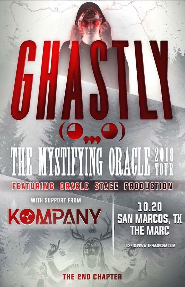 @Ghastly at @TheMarcSM! 10.20.18 On Sale NOW: TheMarcSM.com