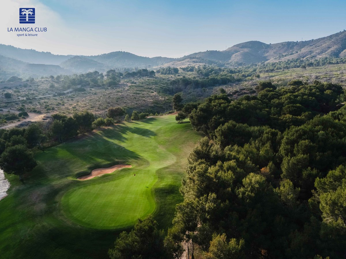 This is the starting point for the West Course, which is among the 100 best golf courses in Europe #golf #lamangaclub