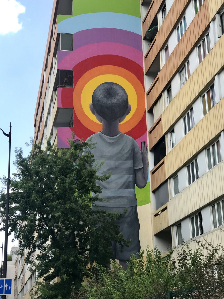 One more magnificent mural from my day out in Paris. This melts my heart and is by Seth Globepainter. #StreetArt #Paris #SethGlobepainter<br>http://pic.twitter.com/nNlpIzQ7S8