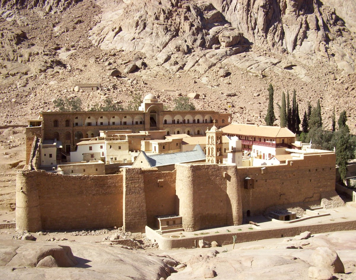 test Twitter Media - Built in the 6th c., St Catherine's Monastery in Sinai holds the world's oldest continually operating library. Our new grant to @UCLA_Library will help to digitize the Monastery's ancient Arabic and Syriac manuscripts and to make them #openaccess Read more https://t.co/PfPicPHuhs https://t.co/p5Wrxnpubv
