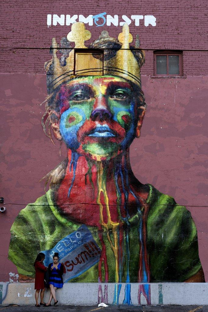 Mural by US artist Naomi Haverland in Denver, Colorado, USA  #streetart #graffiti #граффити #arteurbano #denver #colorado #usa #art #artecallejero #naomihaverland #muralart #arturbain #mural    via  http:// Hiveminer.com  &nbsp;   |  https:// goo.gl/t4L9oJ  &nbsp;  <br>http://pic.twitter.com/zQr4XMsQcG