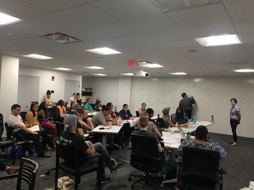 What a perfect day for a training with several of our key coalition partners—as we talk about how their organizations can help lead the #YesOn3 campaign to uphold #trans protections in #Massachusetts. Thank you for standing with us! #MAPoli