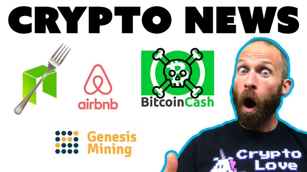 NEO Fork | End of Bcash | Airbnb Crypto | Genesis Mining Contracts  http:// dlvr.it/QgCfvG  &nbsp;  <br>http://pic.twitter.com/WgVM3al8fq