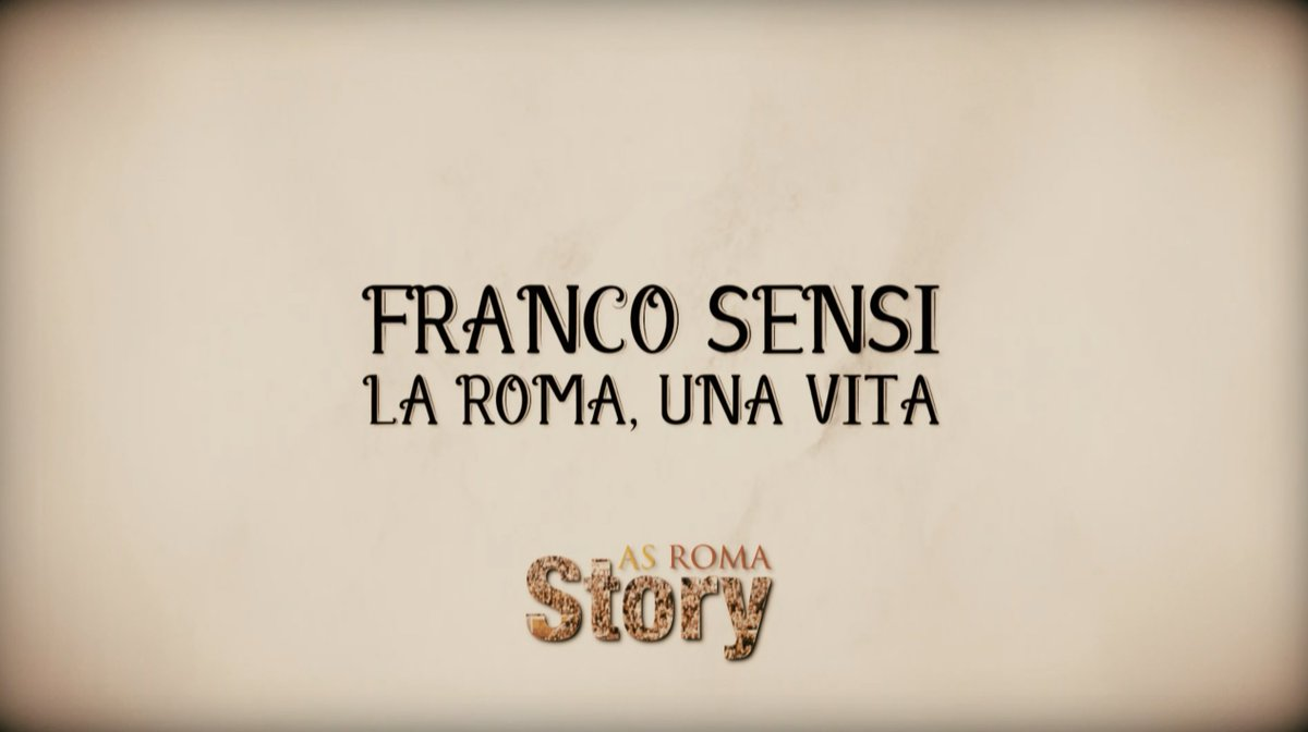 Il 17 agosto del 2008 ci lasciava il presidente Franco Sensi A 10 anni dalla sua scomparsa, vogliamo ricordarlo con una puntata speciale di #ASRoma Story, in onda su @romatv alle 14:20 e alle 21:00  - Ukustom
