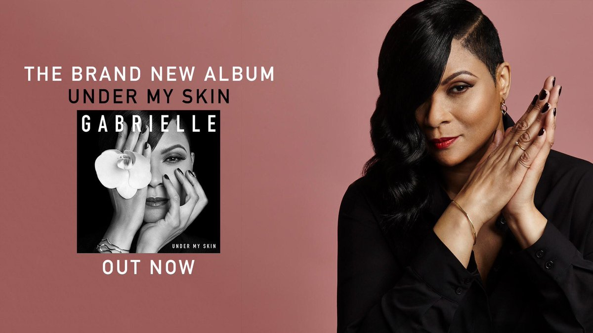 #UnderMySkin the brand new album by the beautiful Legend @GabrielleUk is finally OUT NOW! 🎶  What's your favourite track so far?   Grab your copy here :  https://t.co/f8nWAP0yk2  📀