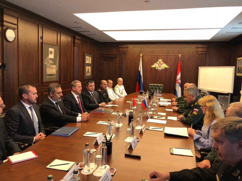 В Москве прошли переговоры  российских и турецких военных силовиков