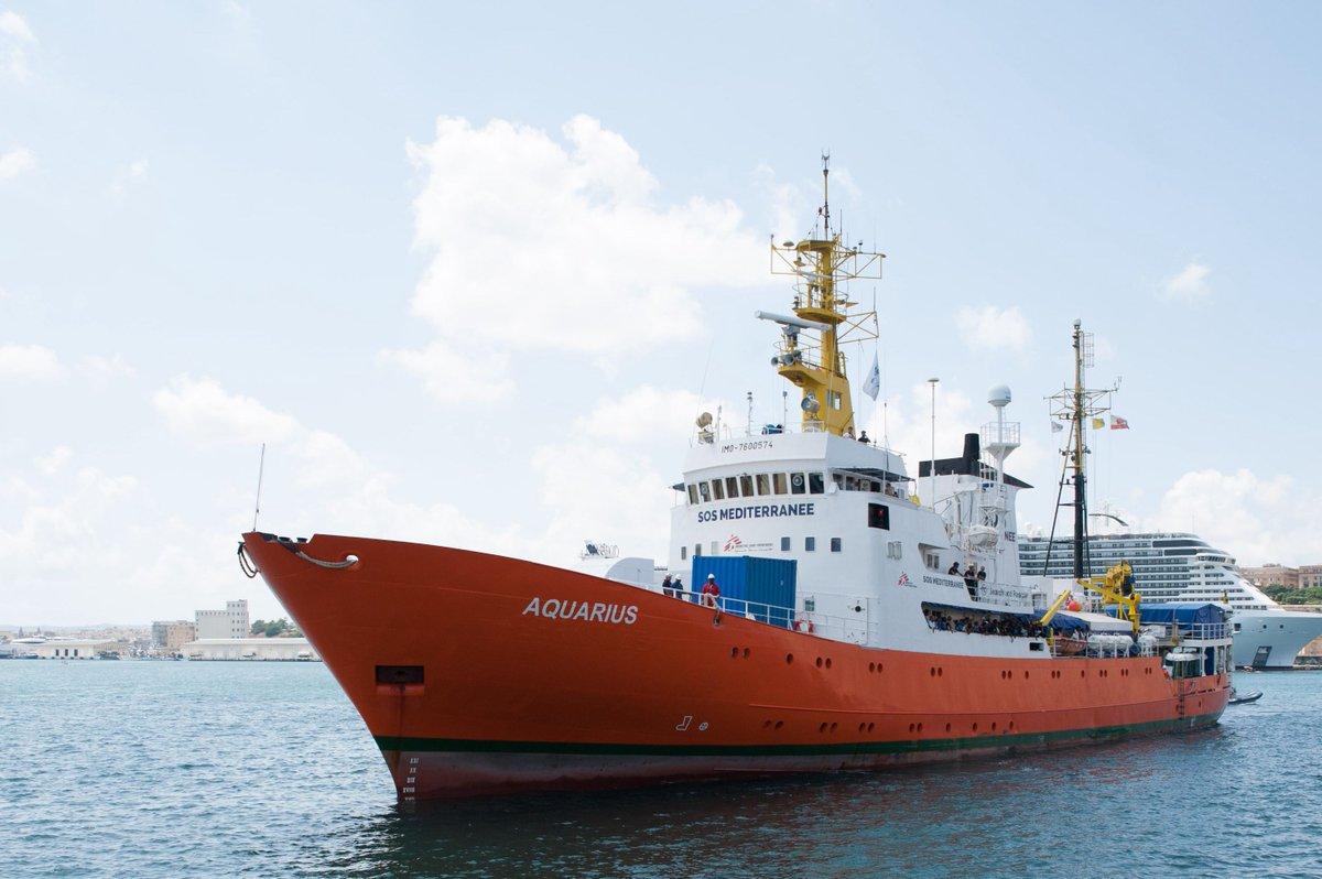 L'association pro-migrants SOS Méditerranée a reçu des dons en nature de grands médias >> https://t.co/A6fcKOgCQl