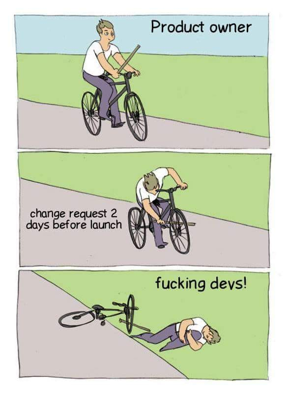 Additional comment isn&#39;t necessary :D  #dev #developers #javascript #startups #projectmanagement #reactjs #NodeJS #code #Coders<br>http://pic.twitter.com/y9dkUgqMON