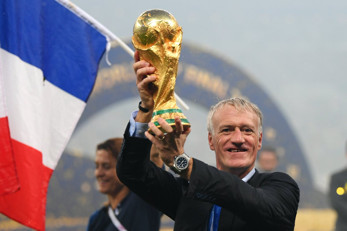 He's the third man to win the #WorldCup both as a player and a coach 🙌  We look at the seven secrets of Didier Deschamps's success on the back of his nomination for #TheBest FIFA Men's Coach  👉 https://t.co/uPkdyX8Fug