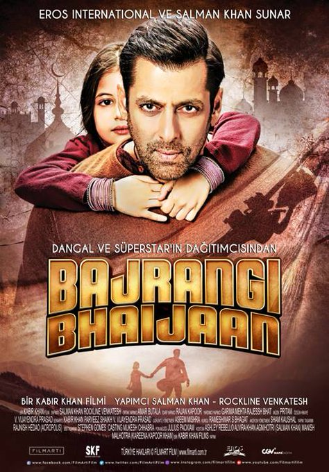 #Xclusiv: #BajrangiBhaijaan opens in Turkey Eros International releases the Salman Khan starrer across 190 Official poster for Turkey: Photo