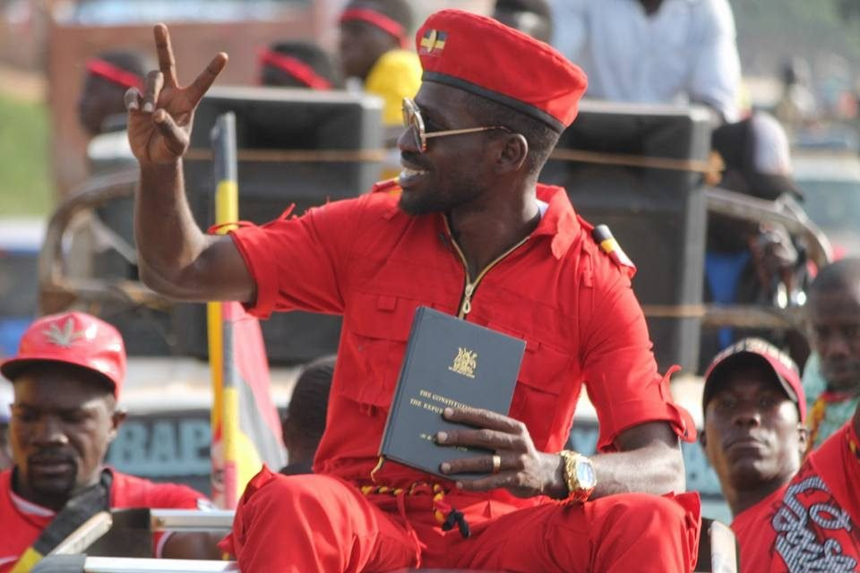 QUOTE;  Bobi Wine: &quot;It's not that I don't fear. I'm a natural human being but I know there is something more powerful than fear and that is the future and destiny of our country.&quot;  #NBSUpdates #StraightTalkAfrica<br>http://pic.twitter.com/pvFOTTXvzi