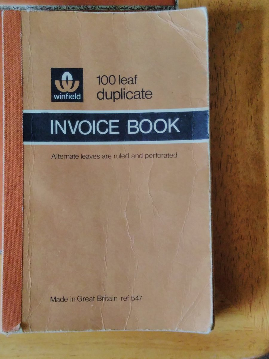 Eco Friendly Shop On Twitter Recycling Using What Is Around Is - How to use an invoice book