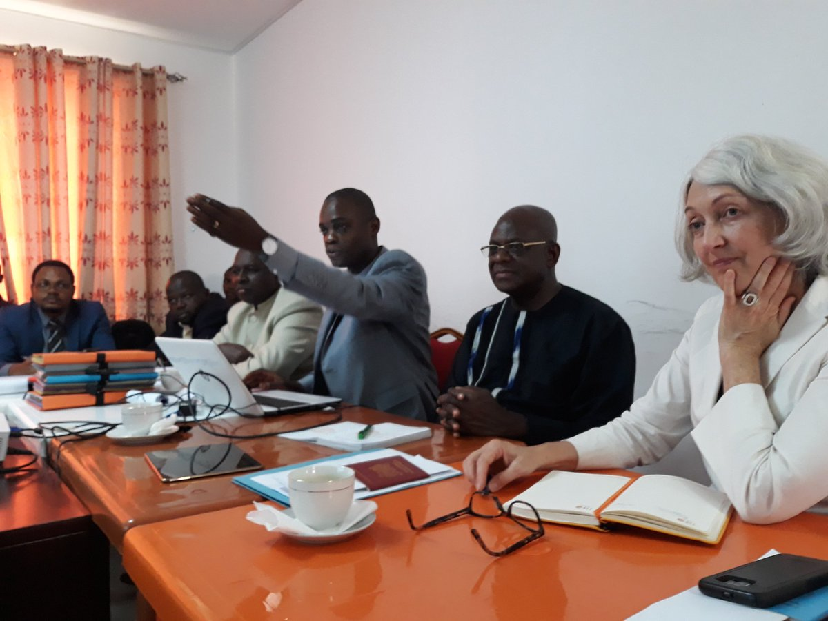 Great to have our chief of population and development branch, Rachel Snow, assisting here in Brazzaville the two Congo (DRC and Congo) exchanging their experience in conducting pilot census cartography @bjlaurenceau @PopDevUNFPA @benoitkalasa<br>http://pic.twitter.com/kje3rOYu73