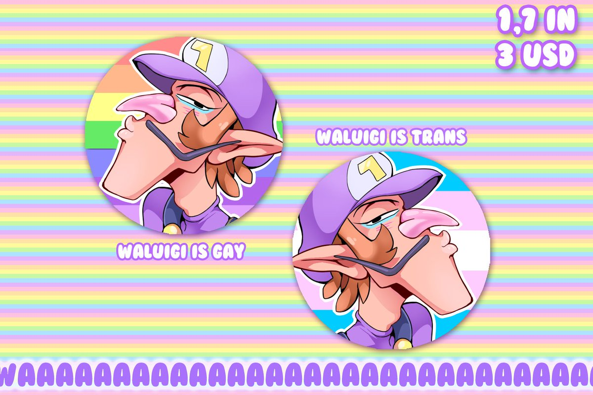 [RTs] waloog pride buttons are up in my store! get u a gay and/or trans buddy for your adventures!!  http:// prlnce.storenvy.com/products/24505 752-pride-wa-buttons &nbsp; … <br>http://pic.twitter.com/Ffq7jDH2di