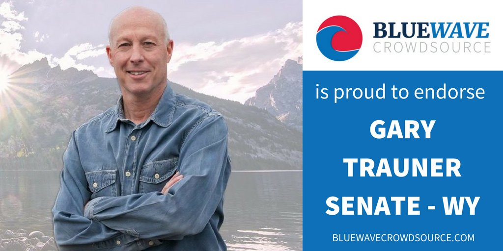 Today&#39;s BWCS #COTD is @TraunerforWY, running for US Senate for Wyoming.   His Primary Election is on Tuesday, August 21.  Gary is currently at 761 followers. Can we get him to 1k? #FridayMotivation   Follow, support, and VOTE for @TraunerforWY<br>http://pic.twitter.com/9IXhKo4qiO