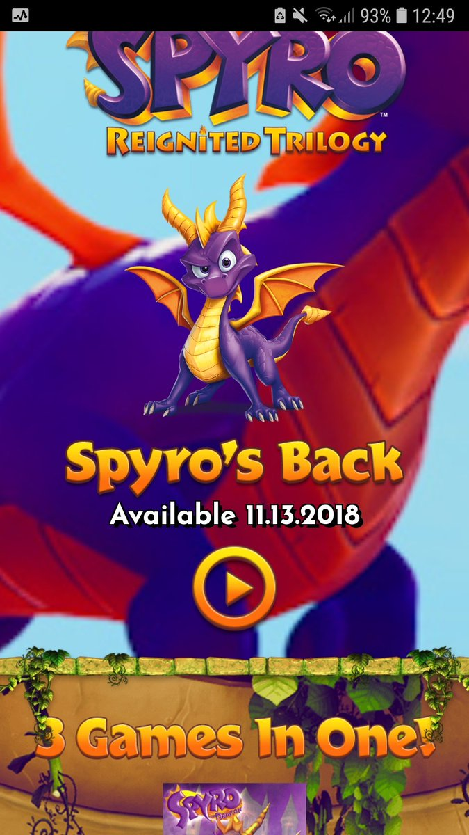 It is official! The game will be delayed until 11th November 2018! I am so glad that @Activision has chosen this approach as Shigeru Miyamoto quotes: &quot;A delayedgame is eventually good, but arushed gameis forever bad.&quot; It will be worth the wait at the end! #IWillSupportSpyro<br>http://pic.twitter.com/ShnZR3IqVs