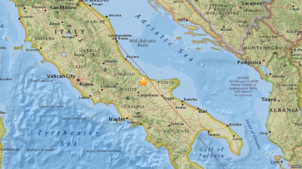 test Twitter Media - Terremoto de 5,2 estremece centro deItalia https://t.co/oG9tSv7ZWp https://t.co/rW2RKEGNWT