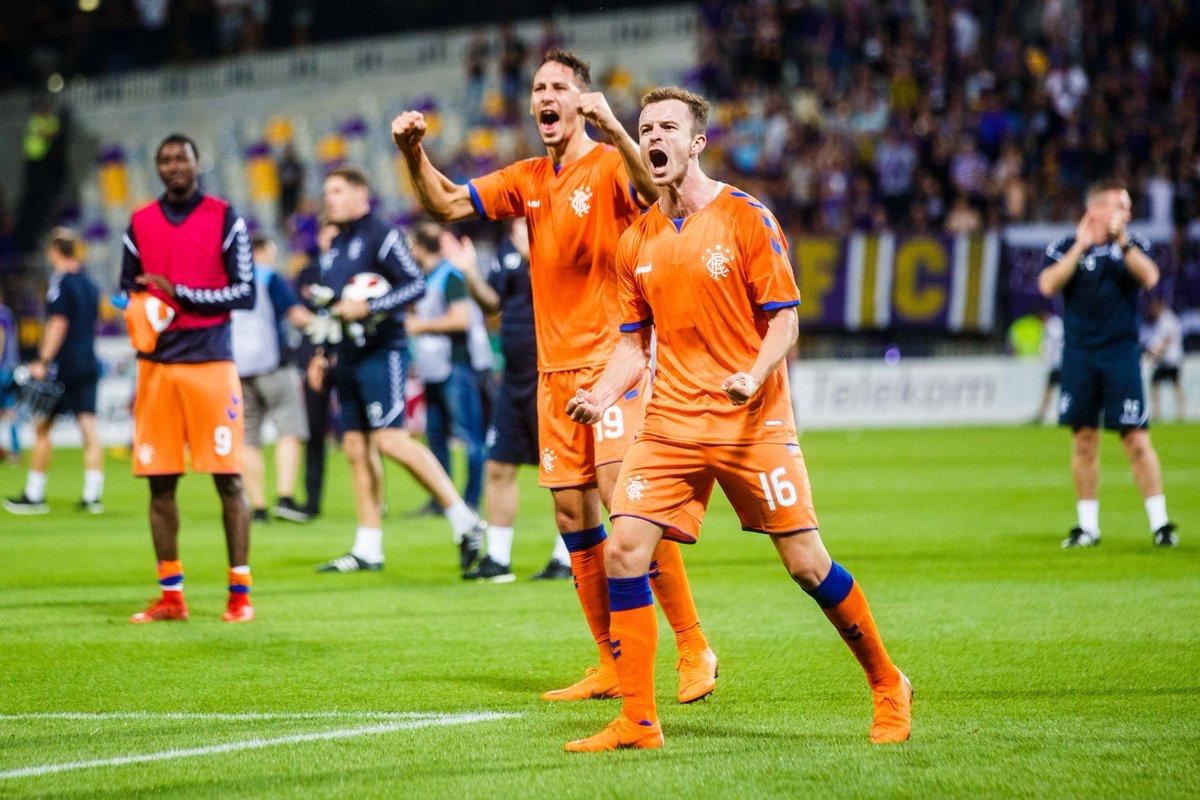 🔴⚪️🔵 Impressed so far? Steven Gerrards unbeaten Rangers have only conceded 2 goals in 6 qualifiers. 💪 #UEL
