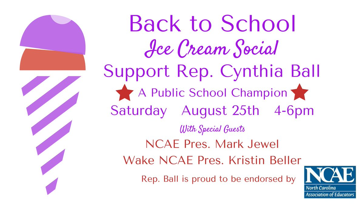 Next Saturday let&#39;s salute #teachers and help bring about change in the #ncga to give more support for our #publicschools. @Julie_Roseland and Nels Roseland will be providing theand @ncae&#39;s @markdjewell and @kbeller will be providing the message.   https:// act.myngp.com/Forms/30418842 49526437888 &nbsp; … <br>http://pic.twitter.com/1zcH1NjE4E