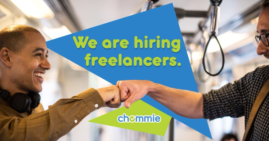 We're HIRING! Cape Town &amp; Stellenbosch!  Make money in your free time from our freelance work categories!   Follow the link to #BecomeAchommie :  http:// chommie.app  &nbsp;  <br>http://pic.twitter.com/Rzvlc17zib