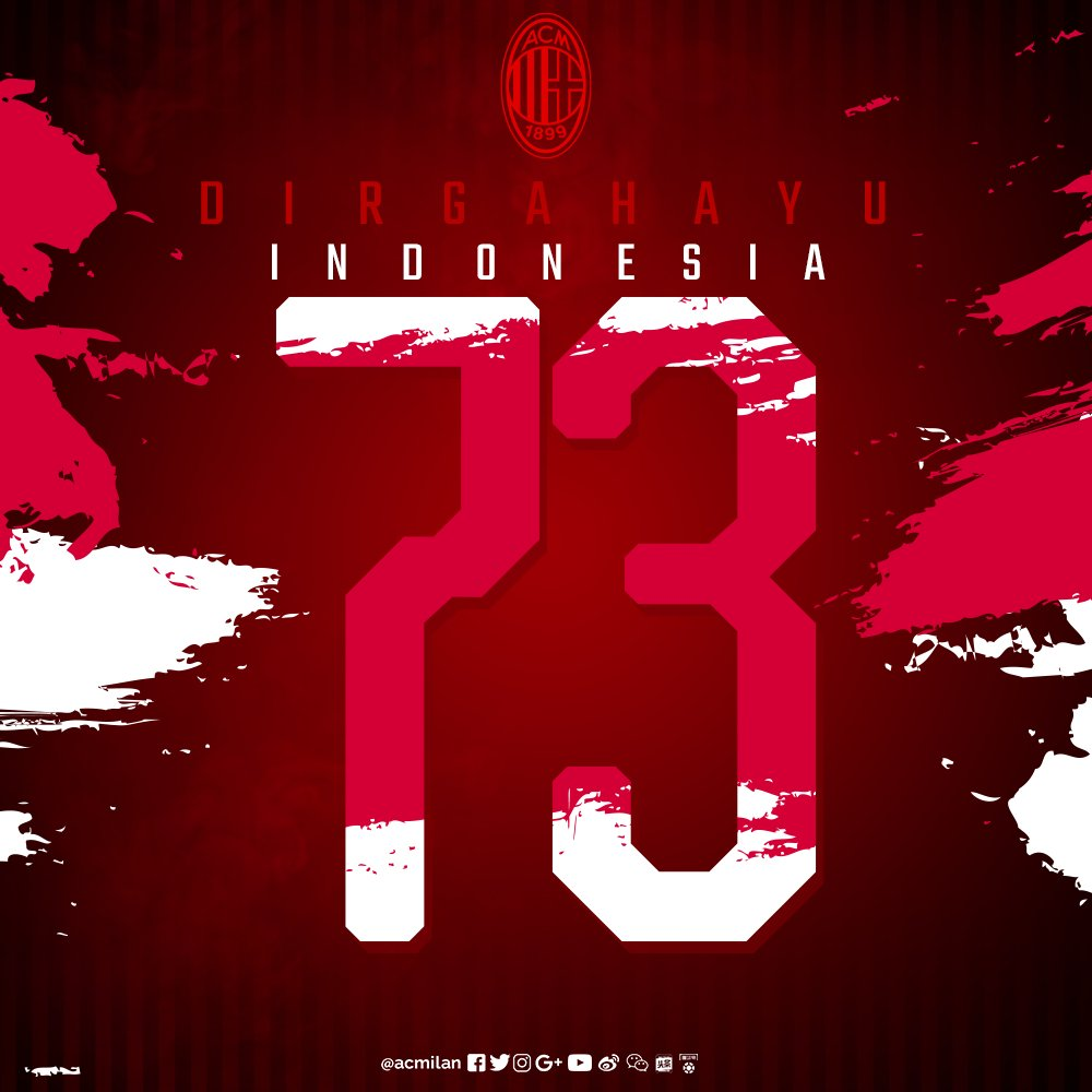 Wishing all our Indonesian fans a Happy Independence Day! #RI73 Dirgahayu #Indonesia! 🇮🇩