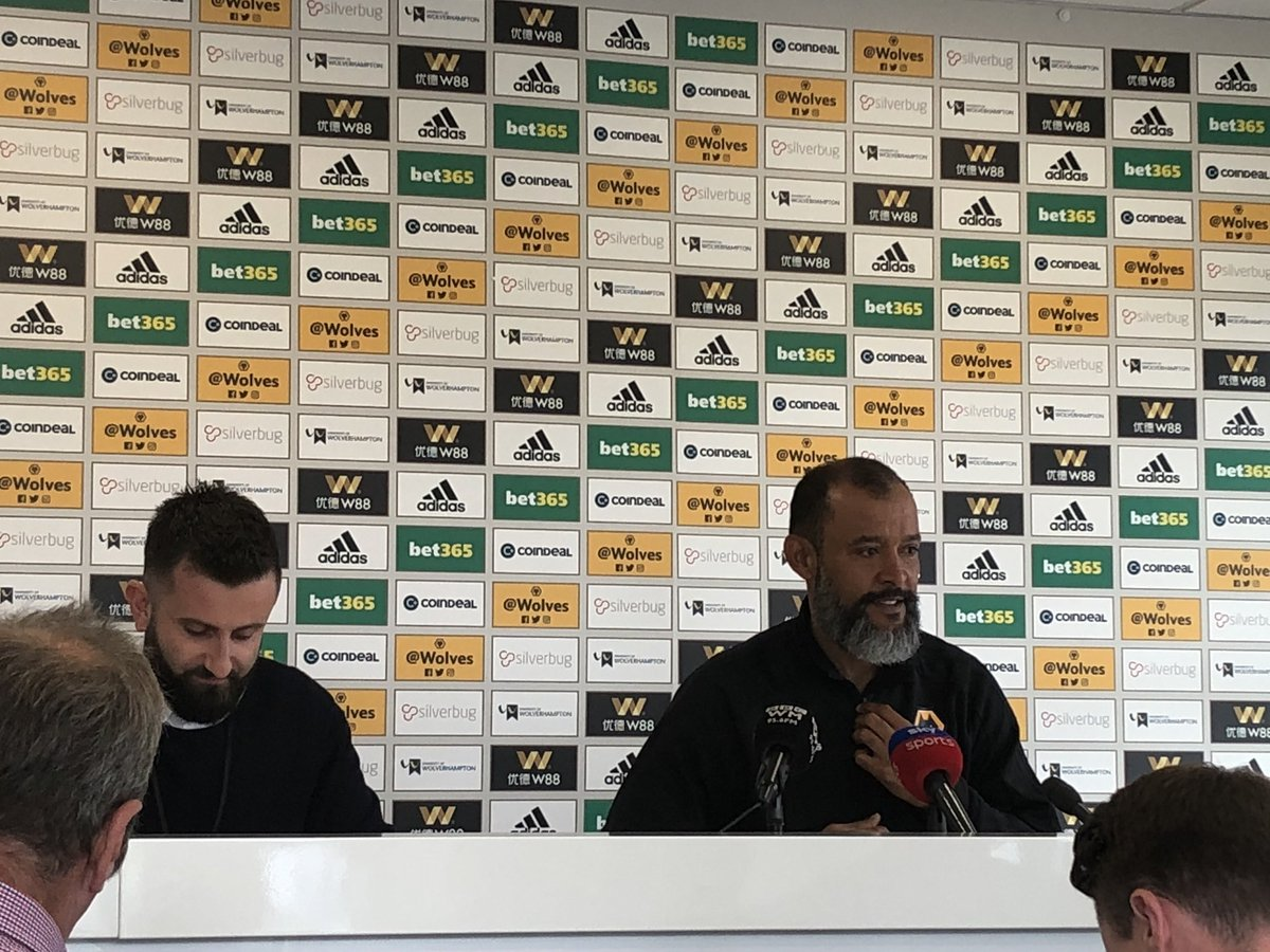 Nuno: We realise we have a tough challenge in front of us, we're looking to improve and all our focus is on Leicester. They're a very good team. We're growing all the time. What @LCFC did to win league was amazing, shows it can be done   #wwfc<br>http://pic.twitter.com/MMR3g4df4n