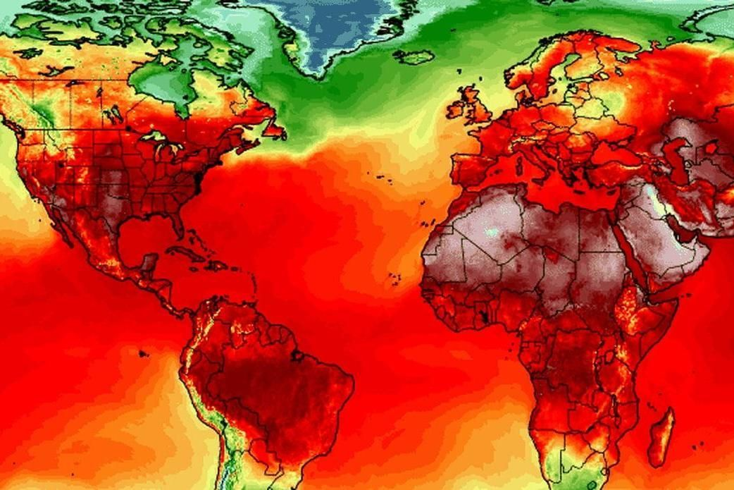 All-time hottest temperature records set all over the world. That&#39;s not good and more pipelines doesn&#39;t help:  https:// buff.ly/2KV9VX0  &nbsp;    @JustinTrudeau panels, not pipelines. RT if you agree.  #ActOnClimate #climate #cdnpoli #bcpoli #NoTMX #StopPipelines #WaterIsLife<br>http://pic.twitter.com/ItUoh9fMr8