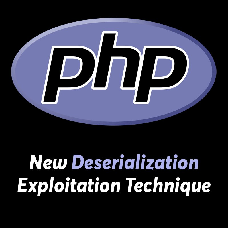 New 'High-Risk' Deserialization Exploitation Technique Discovered in #PHP Programming Language   https://t.co/oryFWXB0Kw   This Exploit Makes PHP Object Injection or Unserialization Attacks Easier to Execute Using Widely Used File Operation Functions.