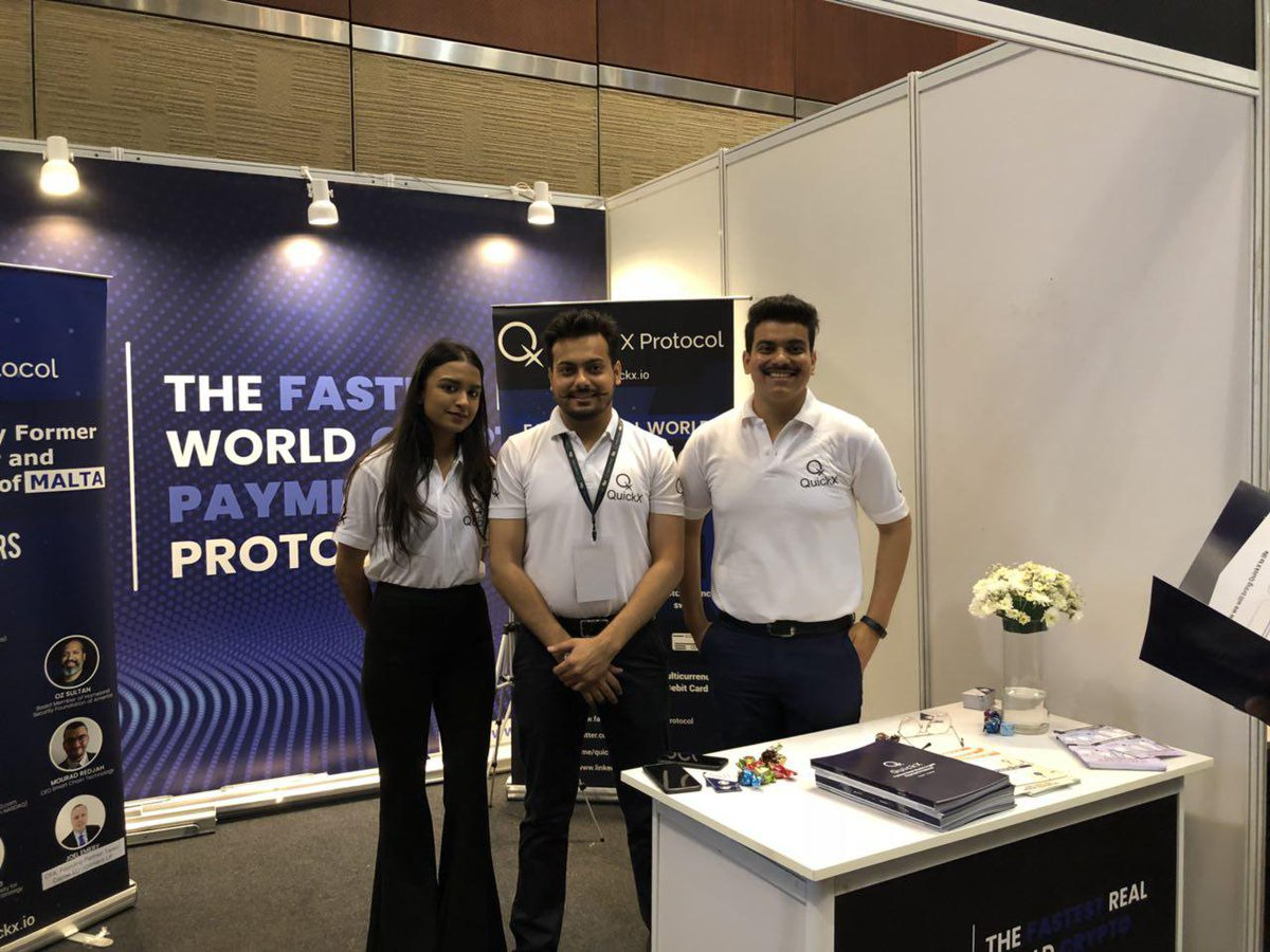 Hey, guys! the QuickX team  took part in the most prominent blockchain conference!  International Blockchain congress that was held from August 3rd–4th in hyderabad, India . We've got more exciting news coming soon—stay tuned! #QuickX #ETH #Blockchain<br>http://pic.twitter.com/ImC6eIM7ff