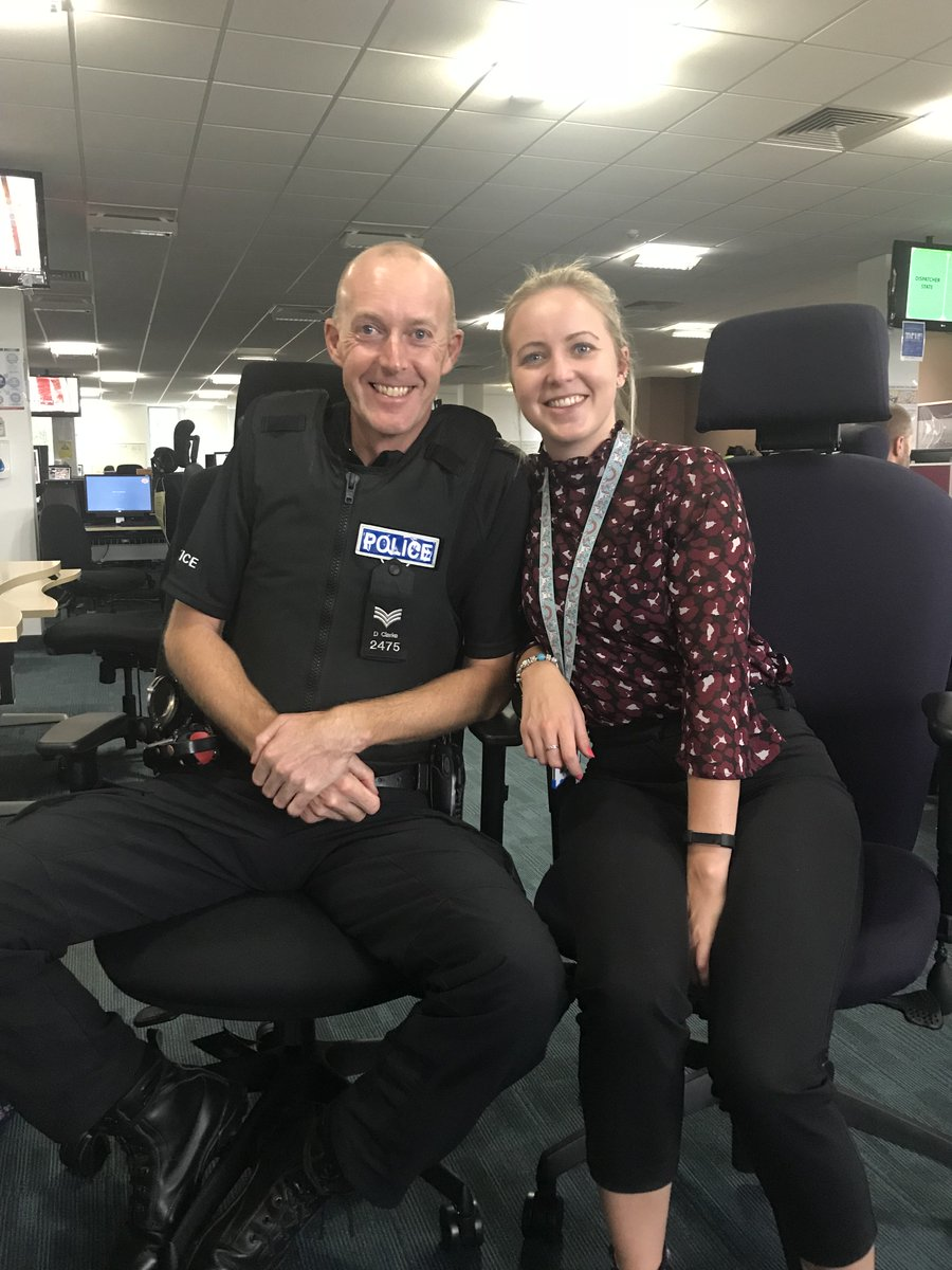 #LikeFatherLikeDaughter two generations of the Clarke family serving Derbyshire Constabulary 👨‍👧😀
