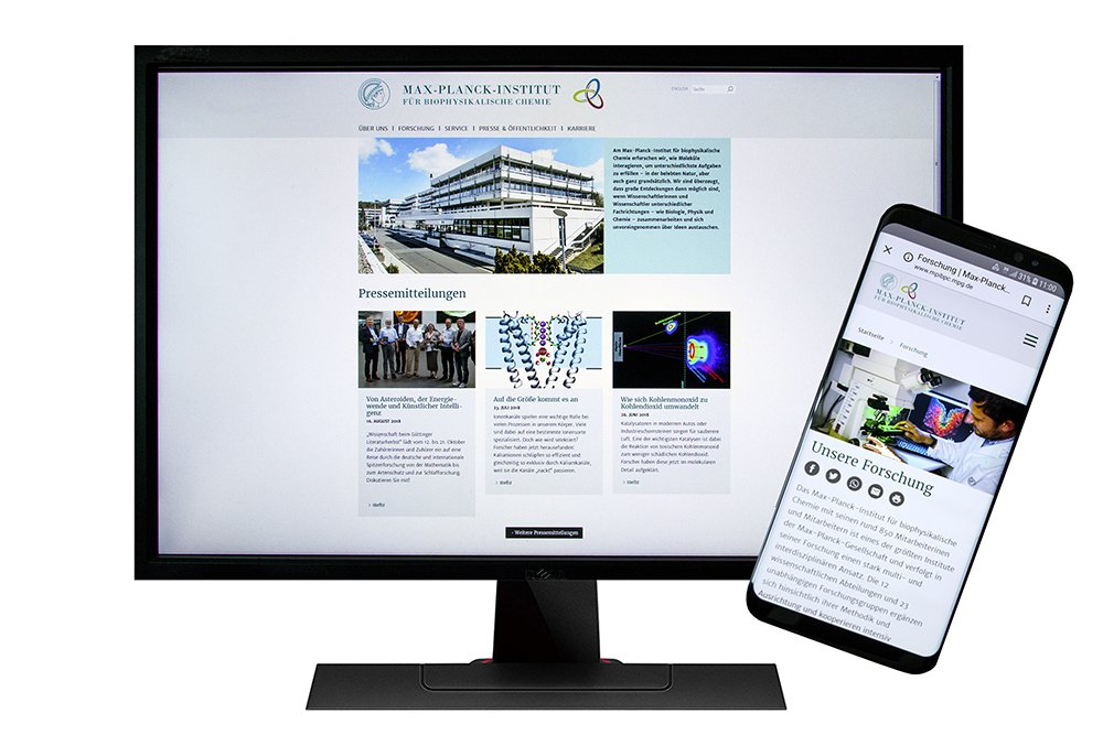Our new #website  http://www. mpibpc.mpg.de  &nbsp;   is now live! Responsive and more modern and user-friendly – check it out! #relaunch<br>http://pic.twitter.com/YpehTm34gx
