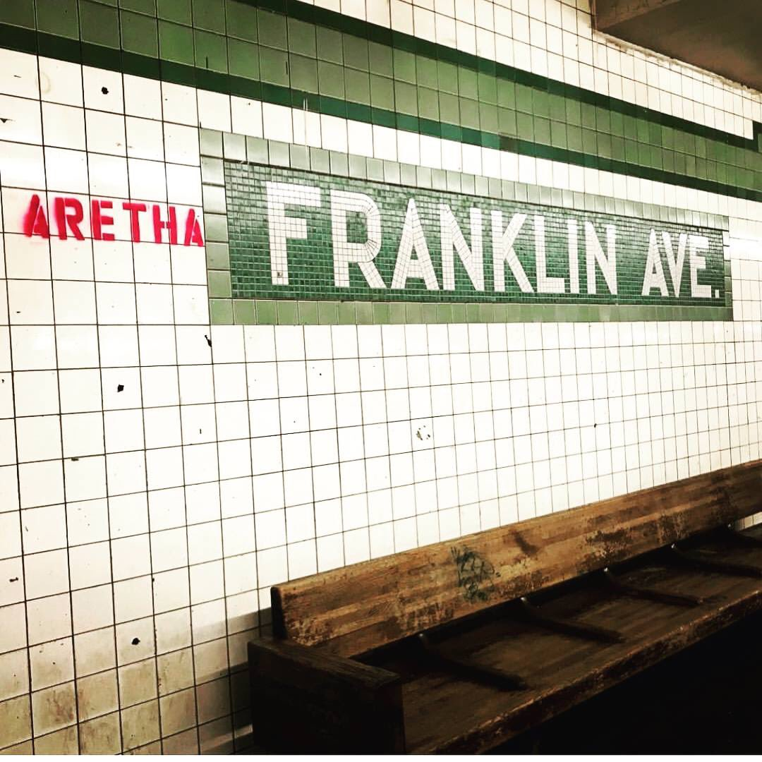 Only in #NewYork #ArethaFrankin #graffitiart <br>http://pic.twitter.com/34Ym4KtaMp