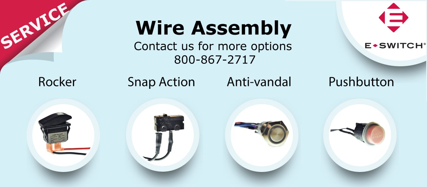 E Switch Inc On Twitter Provides Wire Assembly Value How To A Vandal Added Service For Rocker Anti Pushbutton And Snap Action