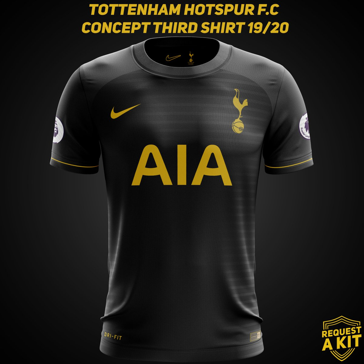 new arrivals fd79e f6a94 Spurs Third Kit