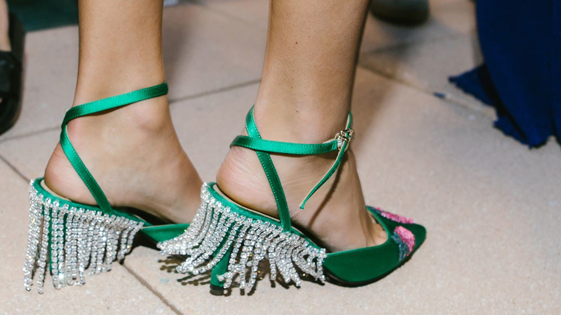 Unabashed, fancy, fussy, and very sexy gem-covered shoes are the best summer shoes yet. https://t.co/L5XwliJ1YI https://t.co/fnpcl3wwUp