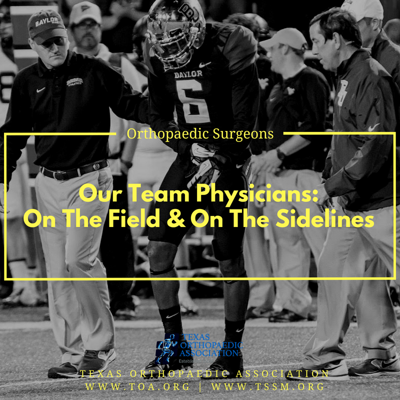 The new football season is just around the corner, and hundreds of Texas orthopaedic surgeons will be on the sidelines as the team physicians. @sportdocDHaynes is pictured on the field in Waco, Texas.<br>http://pic.twitter.com/mh82dDeFlz
