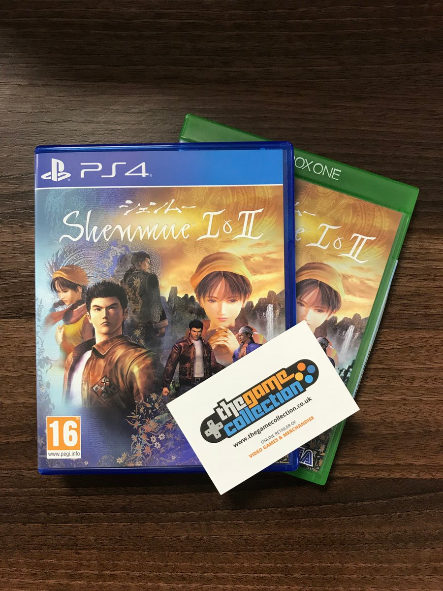 FOLLOW US AND RT to win a copy of Shenmue I & II on PS4 & Xbox One! Winners announced MONDAY 20/8/18 at 12pm! #competition #giveaway #Shenmue #PS4 #XboxOne