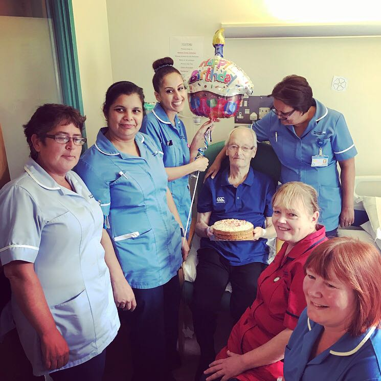 This isn't just staff helping celebrate a patients birthday with him, it's a vision of holistic care &amp; the importance of valuing our patients for much more than a person just needing health care. Happy Birthday to you! #HappyBirthday #HolisticCare<br>http://pic.twitter.com/ql3sH2XRoG