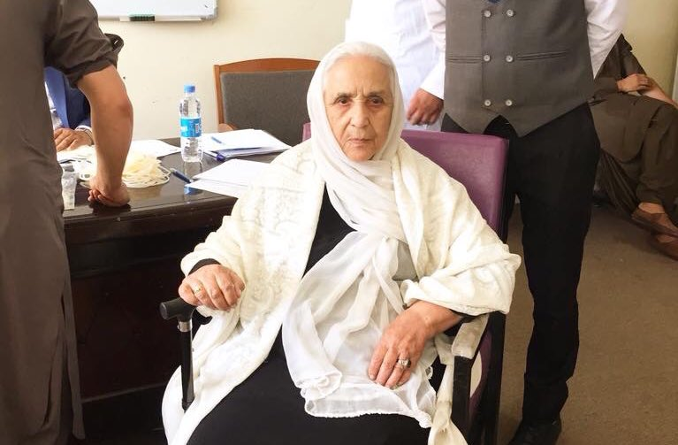 An old woman comes to donate blood in #Kabul for the injured ones of #Taliban recent attacks to #Ghazni and other injured ones. She insists to donate blood but doctors refuse to do so. She is old enough to donate blood, but committed enough to say NO to terror.