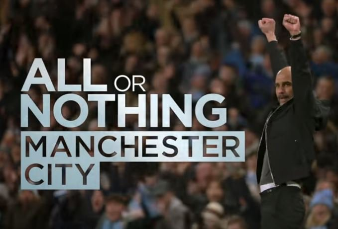 Have you seen All Or Nothing Manchester City? Man City COO @OmarBerrada will join us at 3pm. Let him know what you think of the documentary ⬇️ 📻 Listen: tlks.pt/2ListenLive