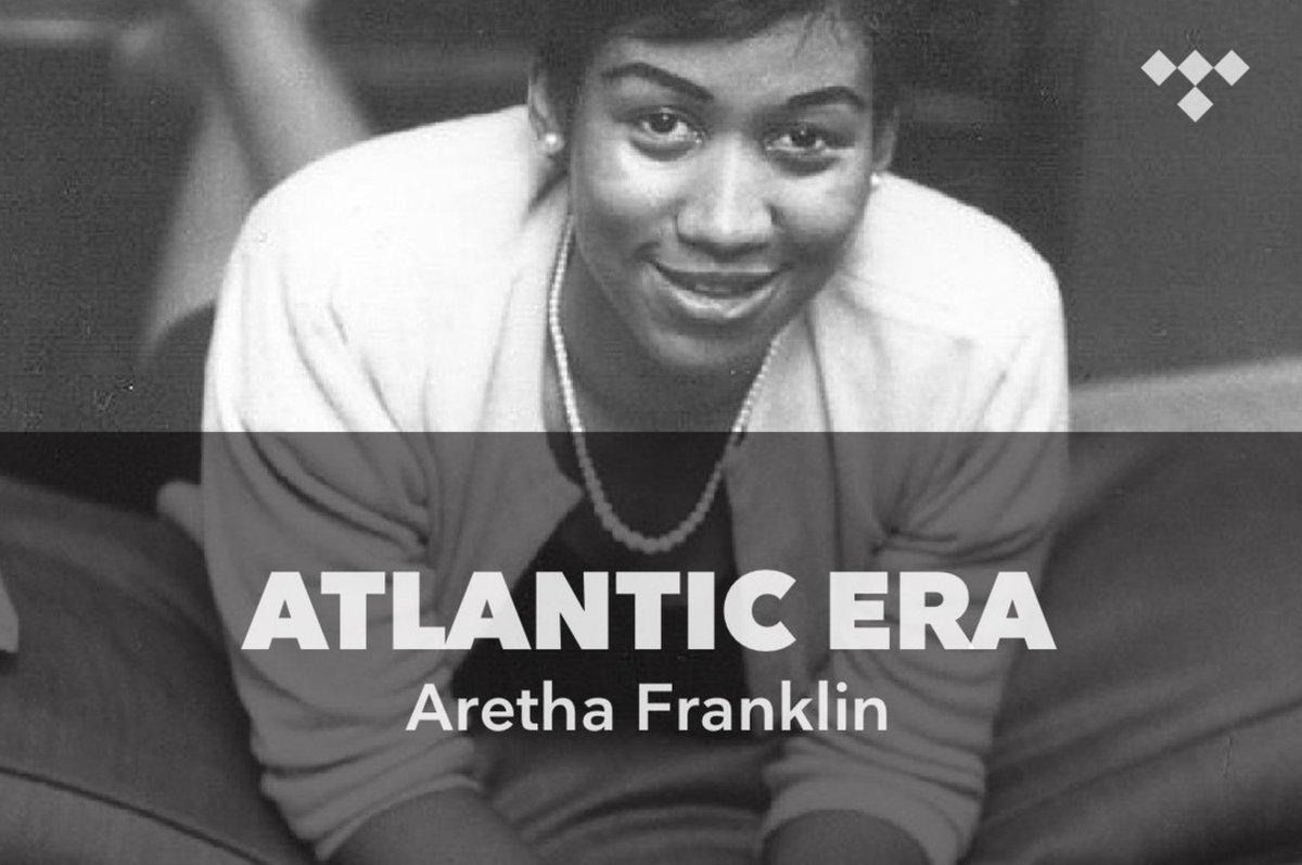 Atlantic Era: Aretha Franklin tdl.sh/5NOZxC #TIDAL