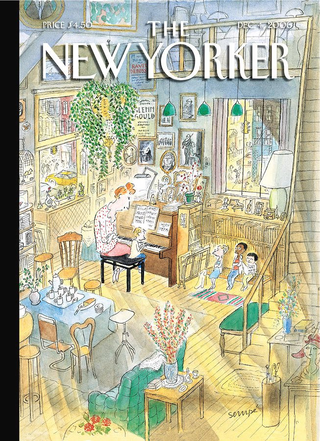 Happy Birthday to french illustrator and cartoonist Jean-Jacques Sempé! Born in Bordeaux in 1932, Sempé is best known for illustrating Le Petit Nicolas and having his work appearing as the cover of @NewYorker magazine more than a hundred times !